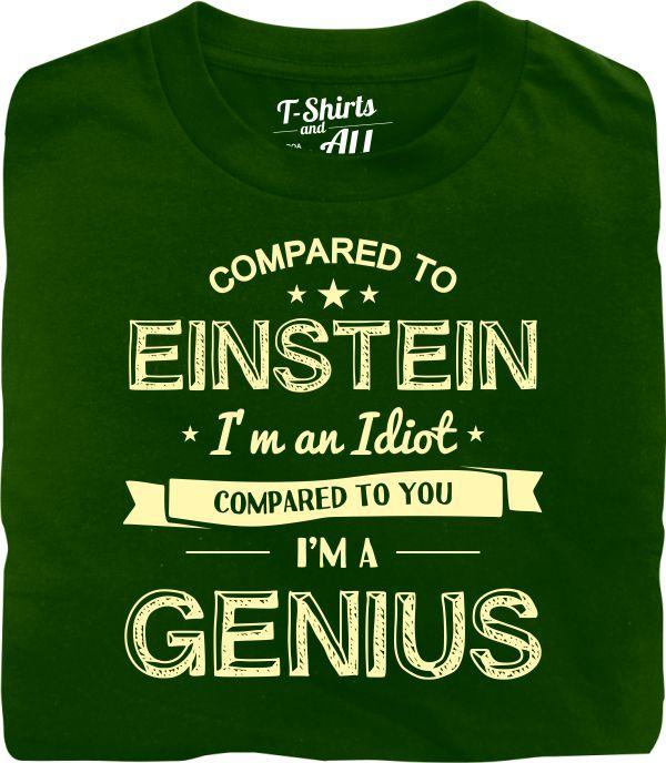 einstein bottle green t-shirt