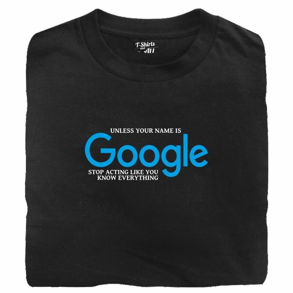google black tshirt