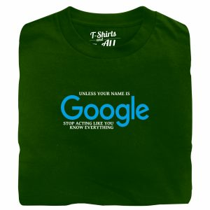 google green tshirt