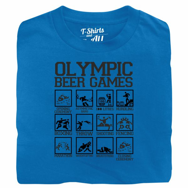 olympic beer games atoll t-shirt