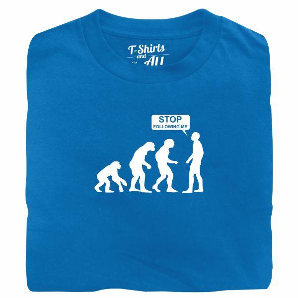 stop following me atoll t-shirt
