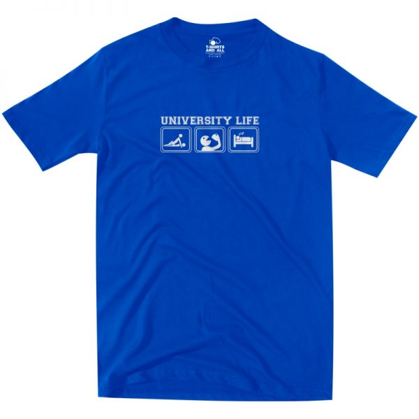 university life royal t-shirt