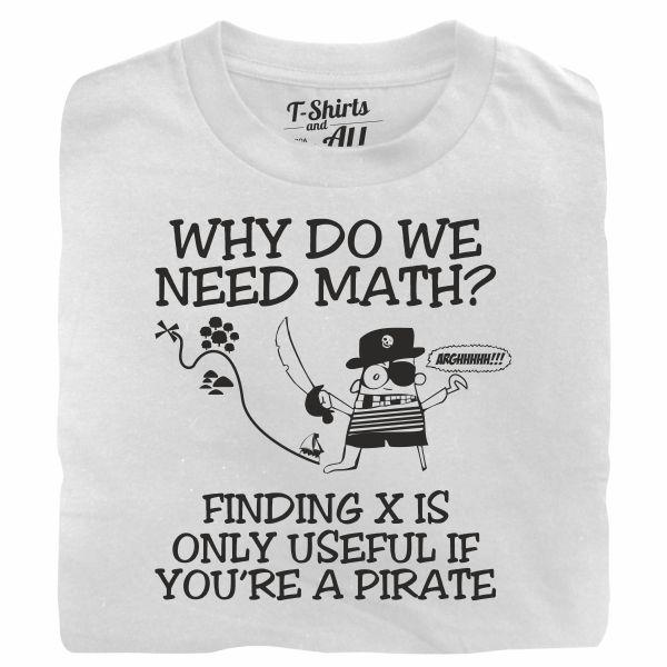why do we need math white t-shirt
