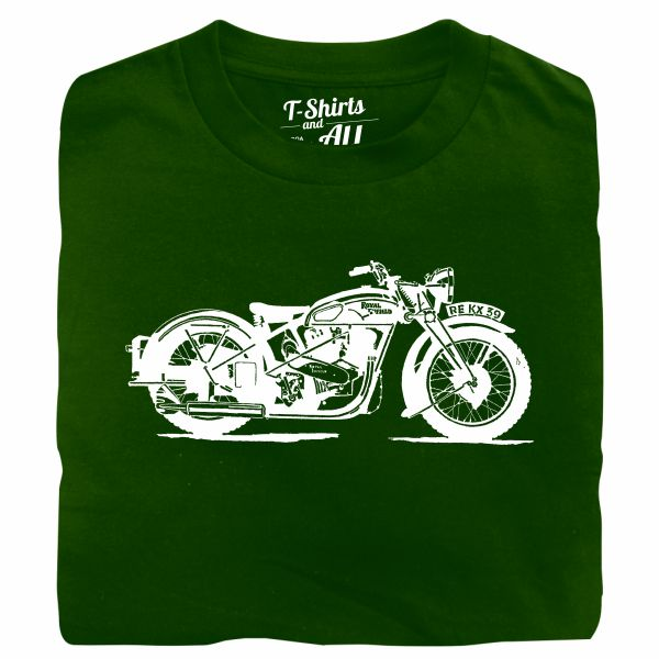 royal enfield green tshirt