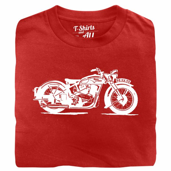 royal enfield red tshirt
