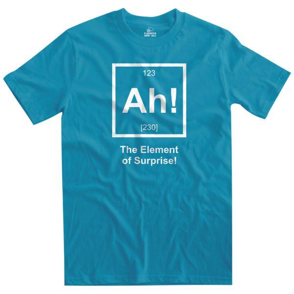 Ah the element of surprise men t-shirt atol t-shirt