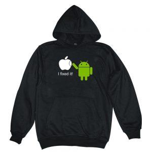 i fixed it black man hoodie