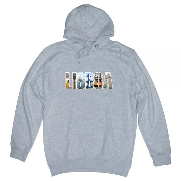 POSTCARD GREY man hoodie