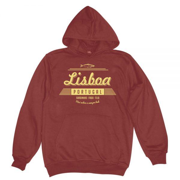 lisboa vintage cedar man hoodie