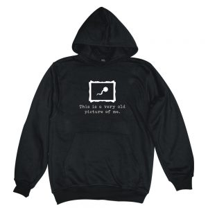 picture of me black man hoodie