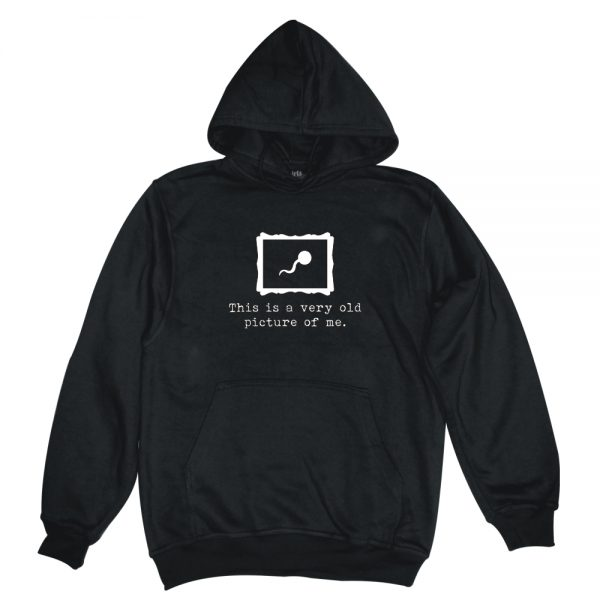 picture of me black man hoodie