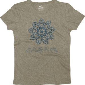play with fairies woman heather grey t-shirt