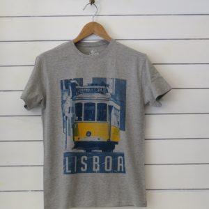 tram 28 grey t-shirt
