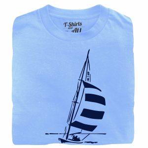 the pessimist complains sky blue t-shirt
