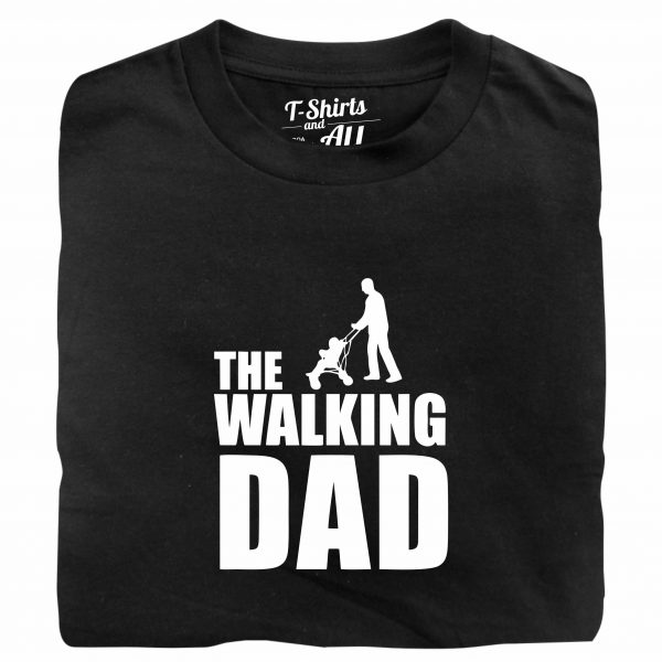 the walkig dad black t-shirt