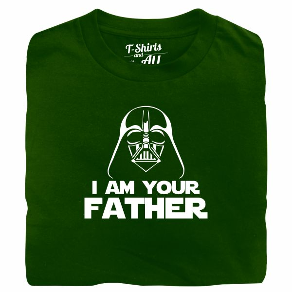 I am your father man botlle green t-shirt