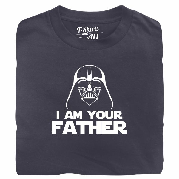 I am your father man denim t-shirt