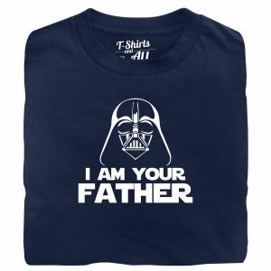 I am your father man navy blue t-shirt