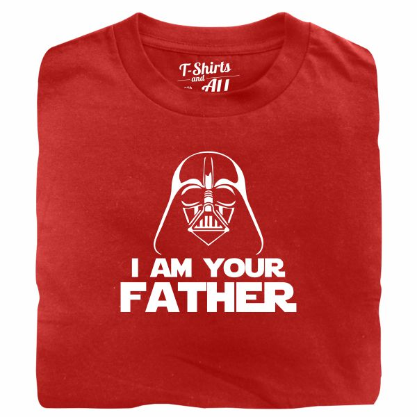 I am your father man red t-shirt