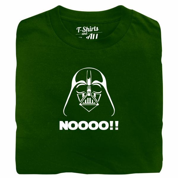 Noooo (I am your father) kids bottle green t-shirt