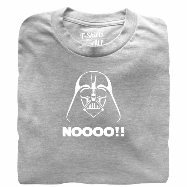 Noooo (I am your father) kids heather grey t-shirt