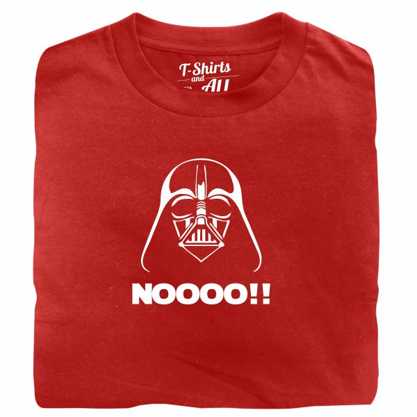 Noooo (I am your father) kids red t-shirt