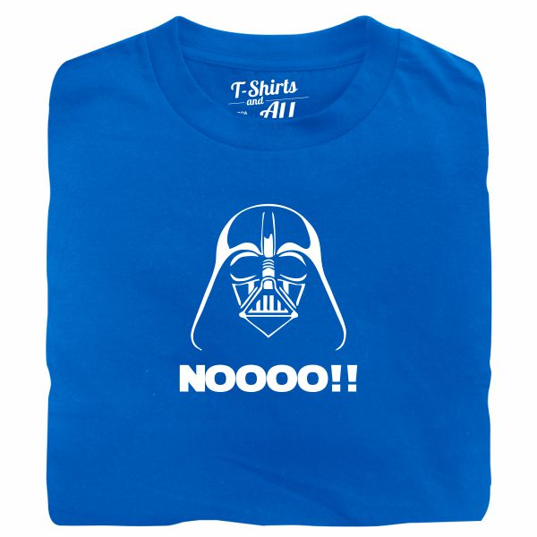 Noooo (I am your father) kids royal blue t-shirt