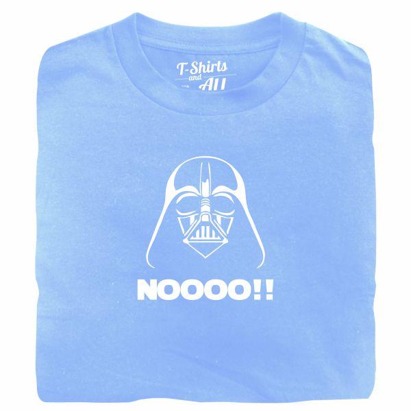 Noooo (I am your father) kids sky blue t-shirt