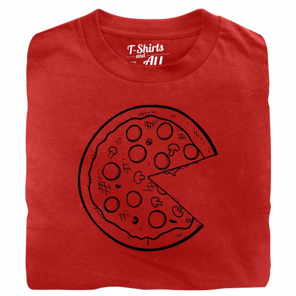 Pizza couple red t-shirt