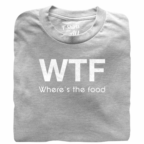 WTF kids heather grey t-shirt