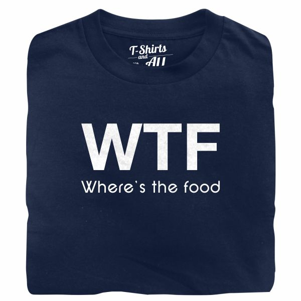 WTF kids navy blue t-shirt