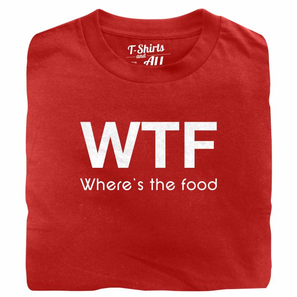WTF kids red t-shirt