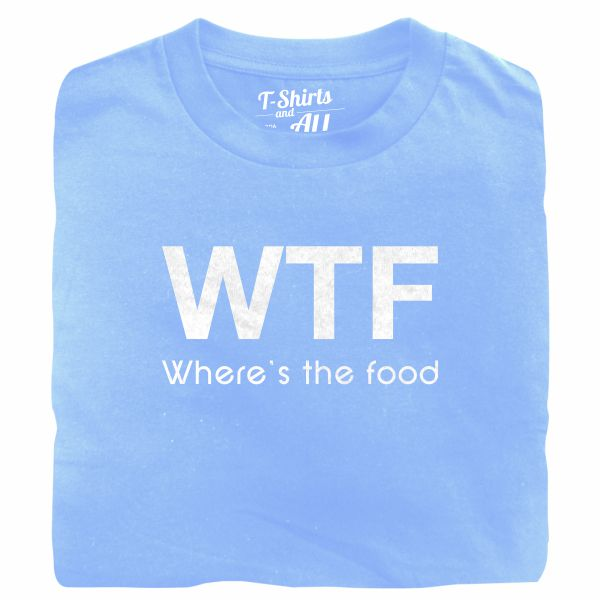 WTF kids sky blue t-shirt