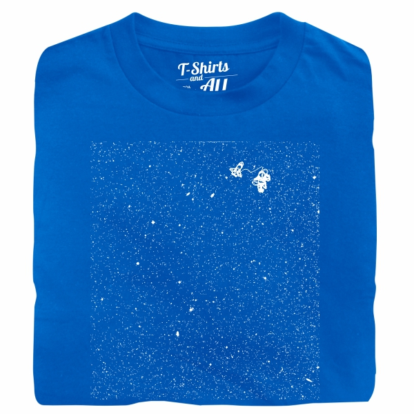 astronaut royal t-shirt