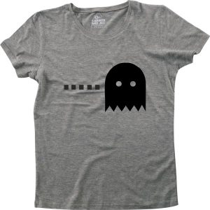 fantasma couple woman heather grey t-shirt