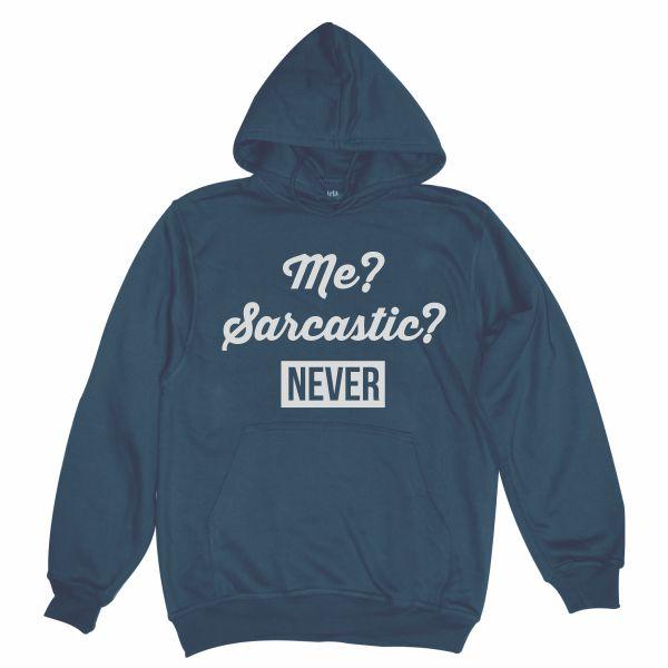 me sarcastic man navy blue hoodie