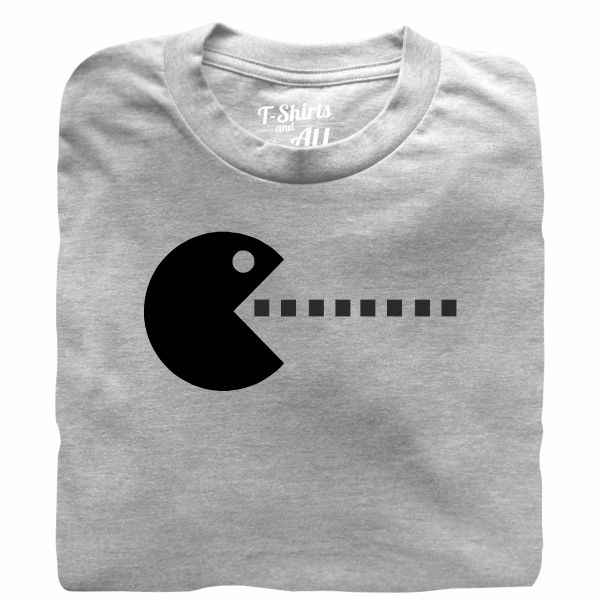 pacman couple heather grey t-shirt