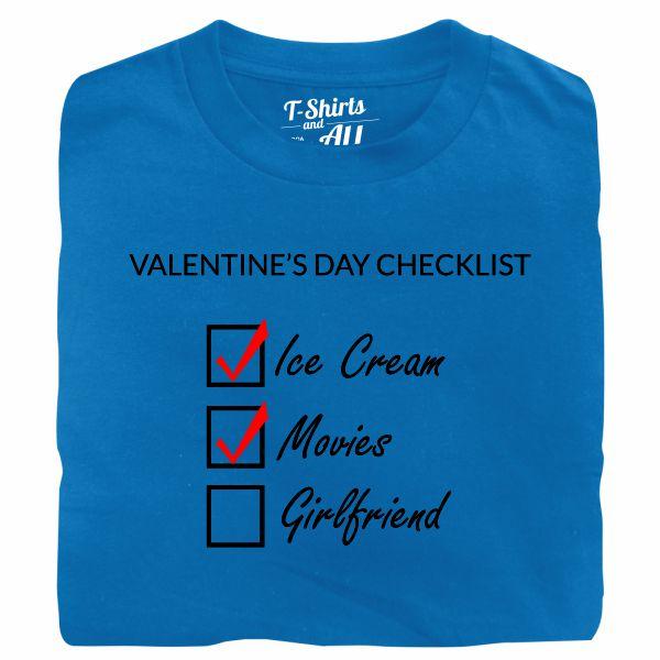 valentine's day checklist man atoll t-shirt