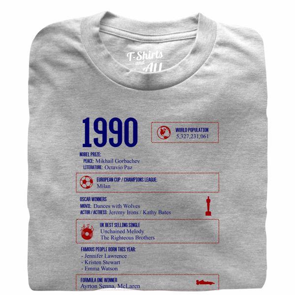 1990 grey tshirt