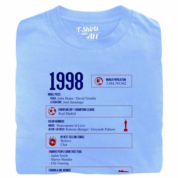 1998 sky blue tshirt