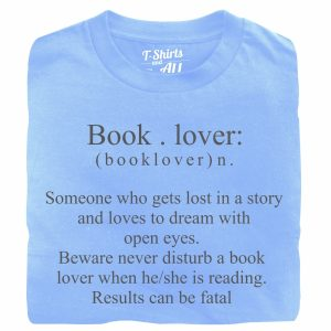 booklover skyblue t-shirt