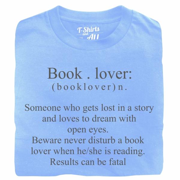 booklover skyblue t-shirt