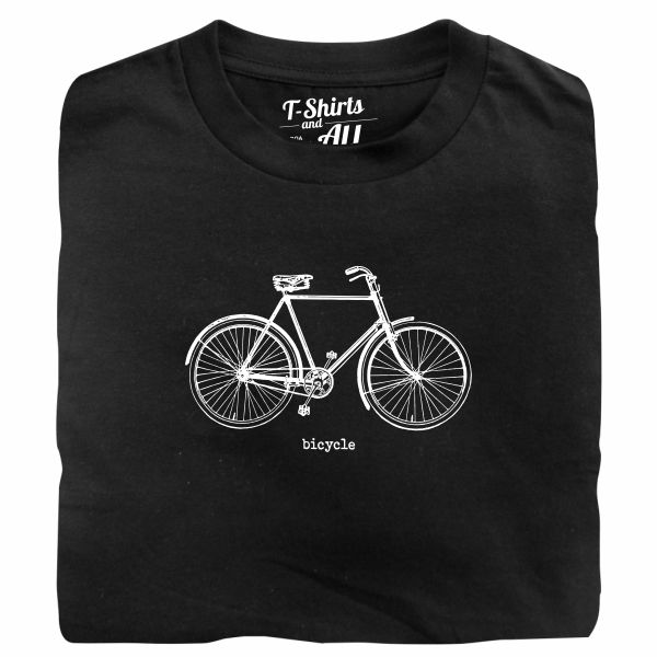 bicycle black tshirt