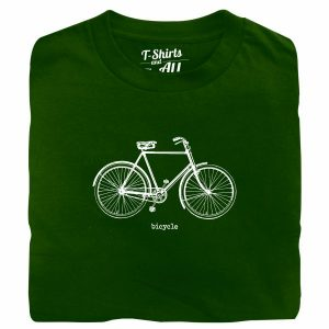 bicycle forest green tshirt