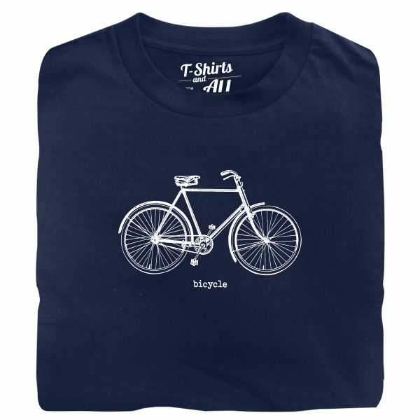 bicycle navy blue tshirt