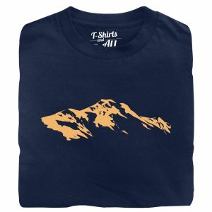 snow montain navy tshirt