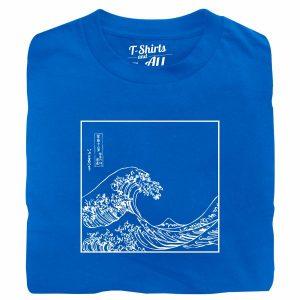 the great wave royal tshirt