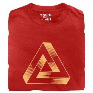 triângulo geométrico red tshirt