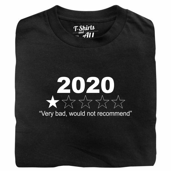 2020 black t-shirt