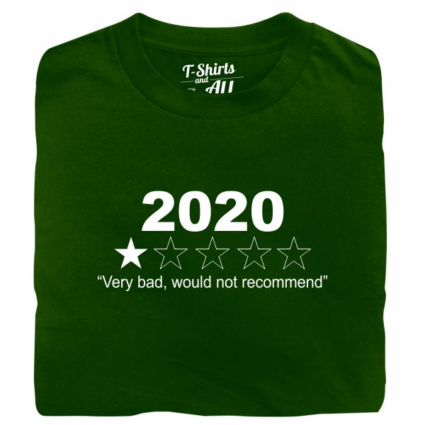 2020 bootle green t-shirt